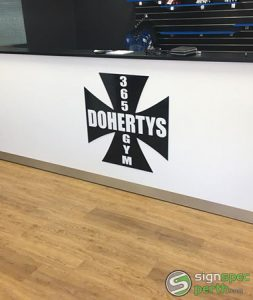 Sign Spec Perth Business Signage Dohertys Gym