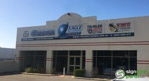 Sign Spec Perth building signage Eagle Outdoors WA
