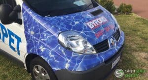 Sign Spec Perth car wrap Byford Carpet Cleaning