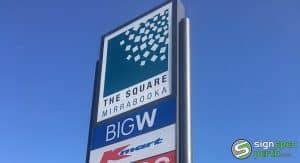 Sign Spec Perth pylon signs the square